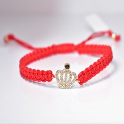 CROWN IN RED